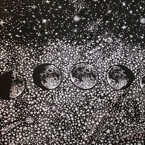 Urban Outfitter Moon Tapestry